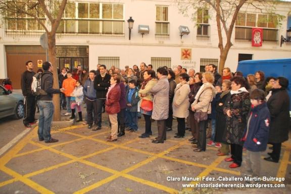 Visita solidaria a la iglesia parroquial Inmaculada Concepción