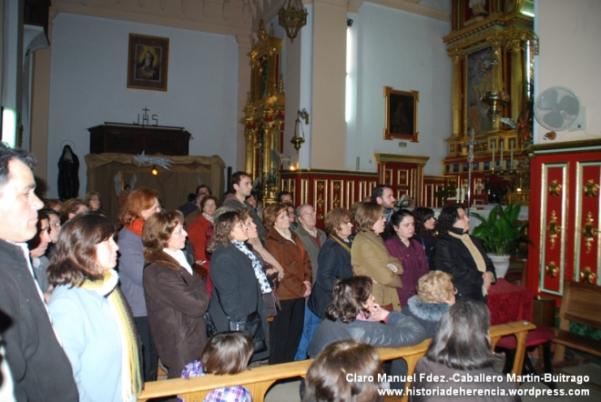 Visita solidaria convento de la merced de Herencia