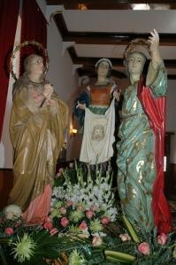 La Verónica, San Juan y María Magdalena - Herencia
