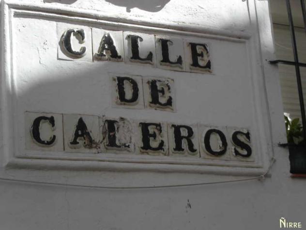 Calle de los Caleros. Nombre de antiguos oficios para las calles del polígono industrial de Herencia(II)
