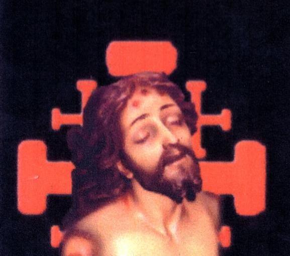 Estampa del Cristo Yacente de Herencia