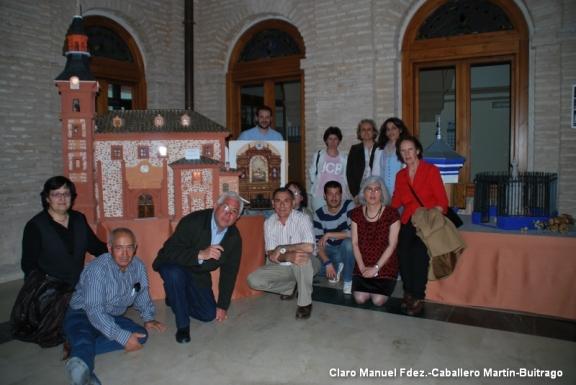 Visita del Taller de Historia Local a las Maquetas de Jesús Fdez-Hijicos