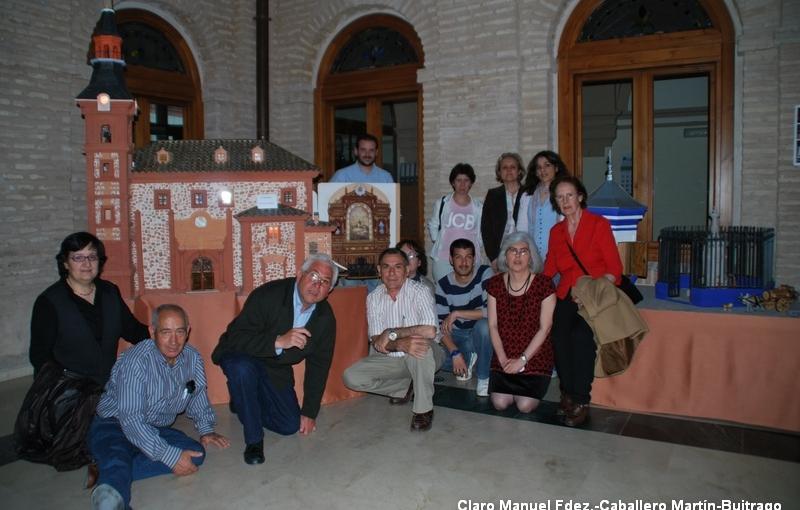 El Taller de Historia Local visita las maquetas de Jesús Fernández-Hijicos