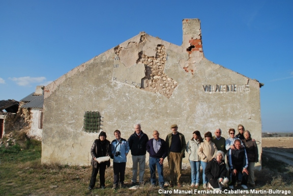 Visita taller de historia local a Villacentenos