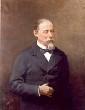 Retrato de Manuel Fernandez Duran por Luis Taberner en 1888