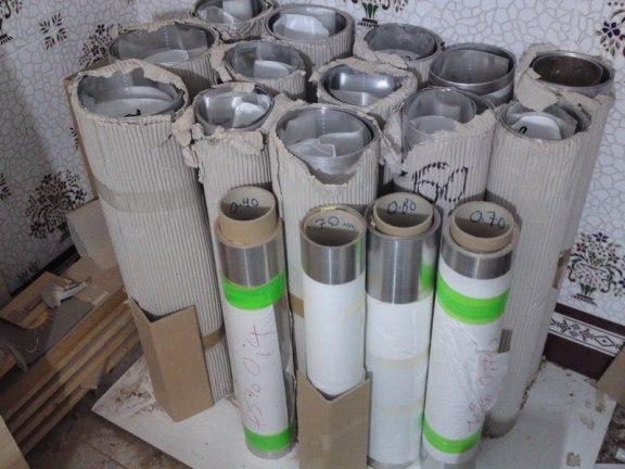 Reconstrucción de tubos del órgano parroquial de Herencia