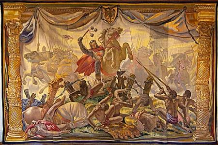 Tapiz de la batalla de Las Navas de Tolosa