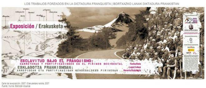 Esclavitud bajo el franquismo_carreteras y fortificaciones en el Pirineo Occidental
