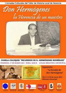 """Cartel """"Don Hermógenes, la herencia de un maestro"""""""