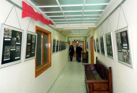 Exposición fotográfica sobre la escuela durante el siglo XX en Herencia