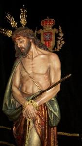 Herencia_Imagen del Cristo del Consuelo. Obra de los talleres Compayá