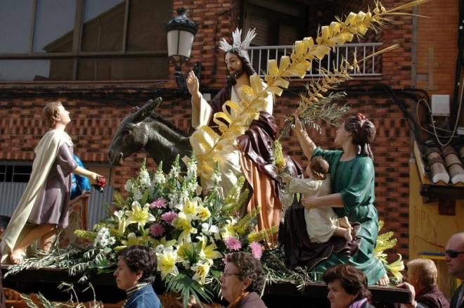 """La borriquilla"". Imagen extraída de la web herencianazareno.blogspot.com"