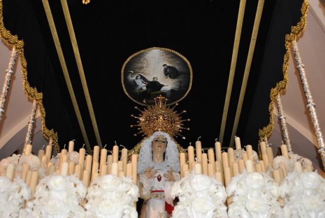 Nuevo paso de la Virgen de la Soledad de Herencia