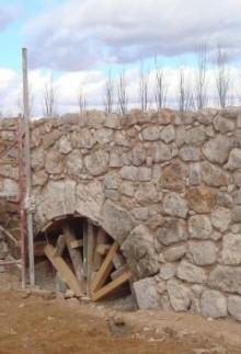 Proceso de restauración del puente romano de Villarta de san Juan