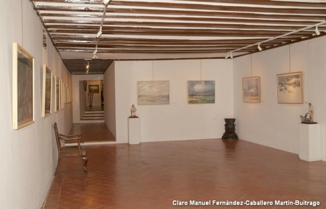 Acuarelas de Julián Martín Casado en la Casa-Museo de La Merced de Herencia