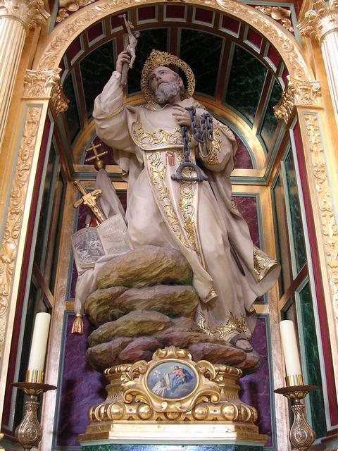 San Pedro Nolasco del Convento de la Merced de Herencia, en Ciudad Real