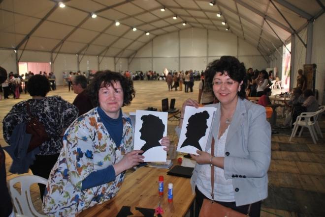 Taller de retratos de la universidad popular de Herencia