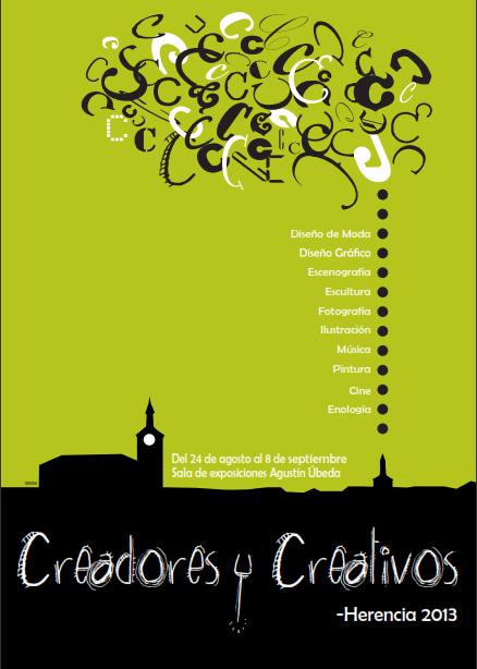 Cartel Creadores y Creiativos - Herencia 2013