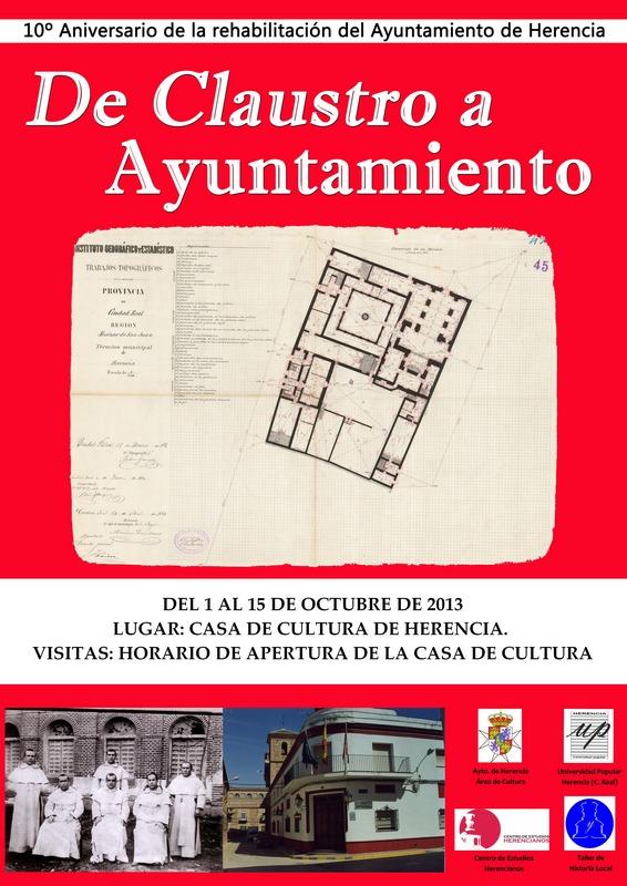 Cartel expo ayto_en la casa de cultura de Herencia