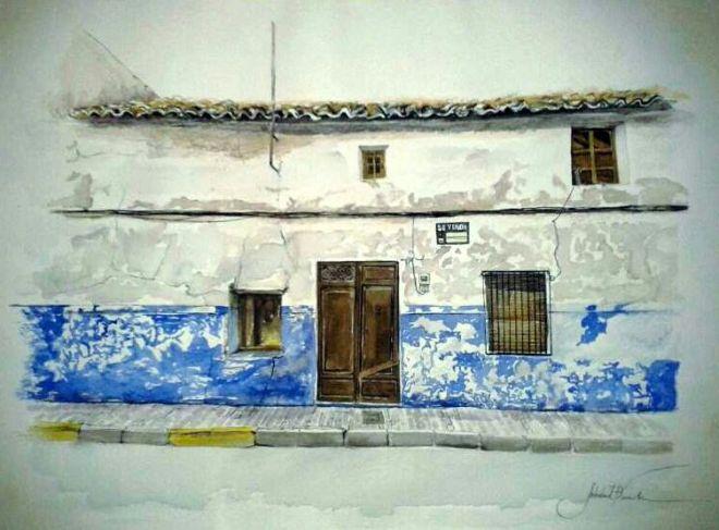 Azulete-de-Soledad-Franch-premio-local-del-Certamen-de-Pintura-Jesús-Madero