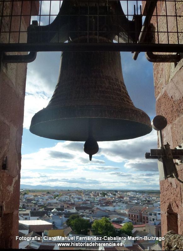 Campana iglesia parroquial de Herencia