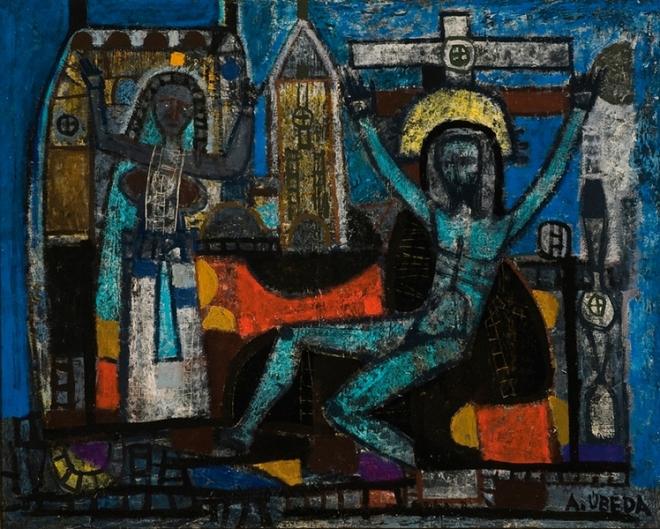 Crucifixión - Agustín Úbeda (Herencia, Ciudad Real, 1925 -