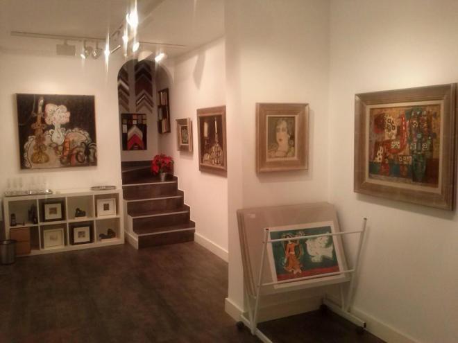 Exposición de Agustín Úbeda en la Galería Marmurán