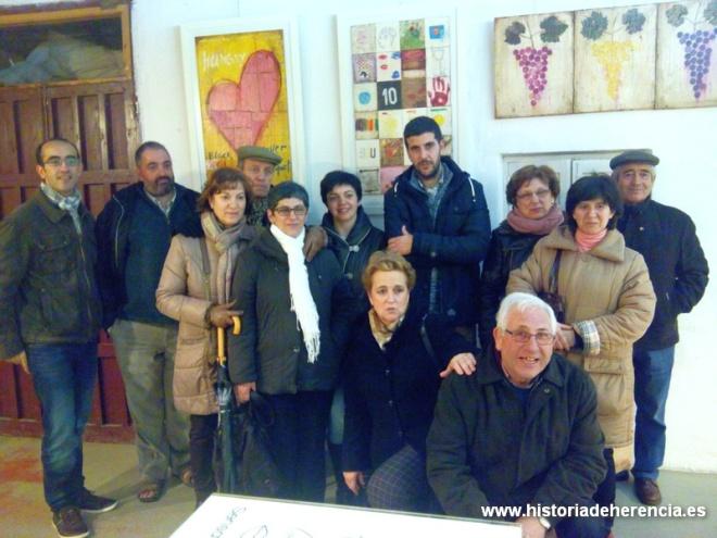 Encuentro del Taller de Historia Local con Salvador Cortés