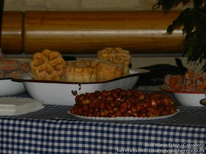 Productos gastronómicos del Carnaval de Herencia