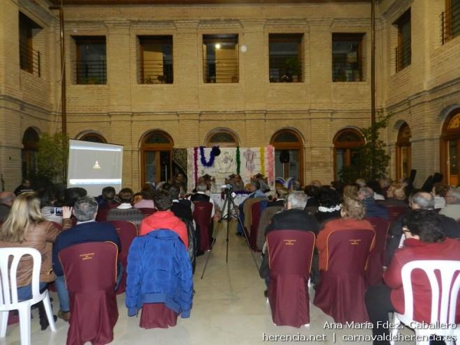 Conferencia sobe la música y coplillas del Carnaval de Herencia