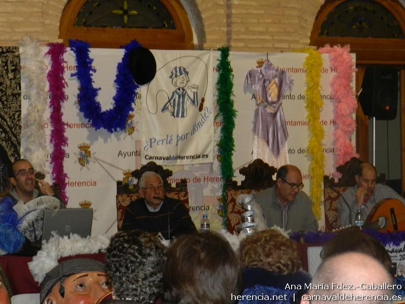 Conferencia sobre la música y coplillas del Carnaval de Herencia