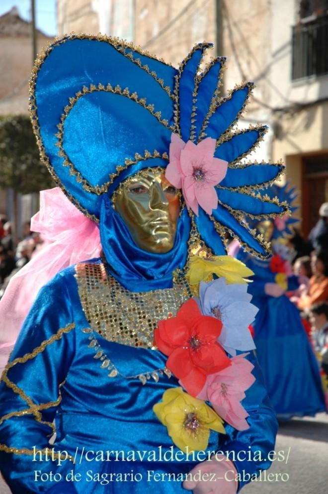 Desfile del Ofertorio del Carnaval de Herencia, últimos años.