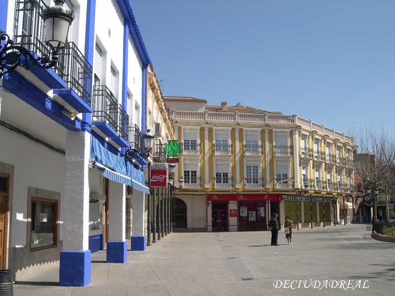 Plaza de España de Herencia - Foto extraída de la web www.ciudad-real.es