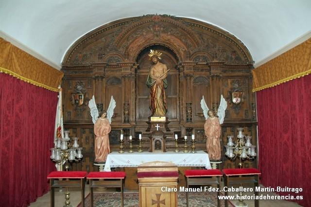 Capilla del Cristo del Consuelo de Convento de La Merced de Herencia