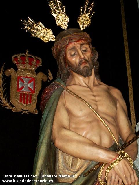Imagen del Cristo del Consuelo del convento de la Merced de Herencia -C. Real