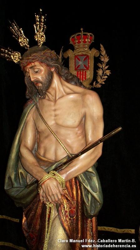 Imagen del Cristo del Consuelo de Herencia