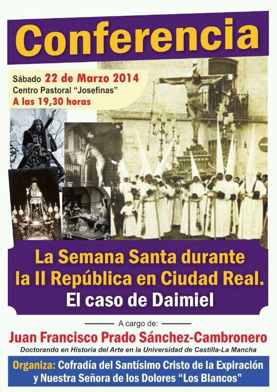 La Semana Santa durante la II República. El caso de Daimiel
