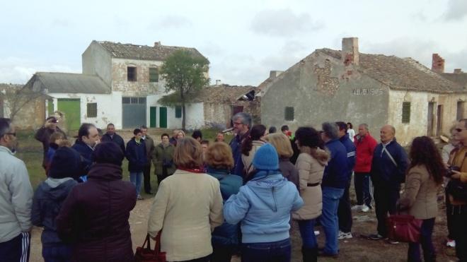 Visita a Villacentenos con motivo del 775 aniversario de Herencia1