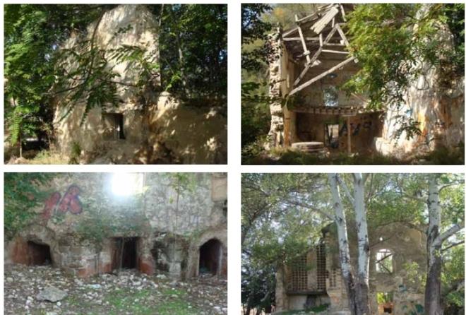 Estado actual del molino de Hernando Diaz - Captura del libro Ciudad Real tierra de Molinos de Agua obra de Domingo de Melero1