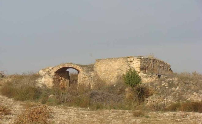 Estado actual del molino del Cuervo - Captura del libro Ciudad Real tierra de Molinos de Agua obra de Domingo de Melero
