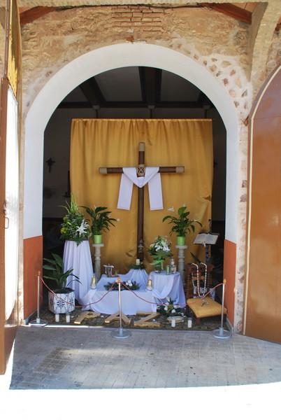 Cruz de Mayo de la ermita de la Labradora de Herencia