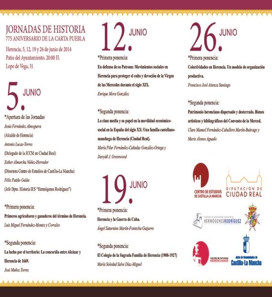 Ciclo de conferencias sobre la historia de Herencia