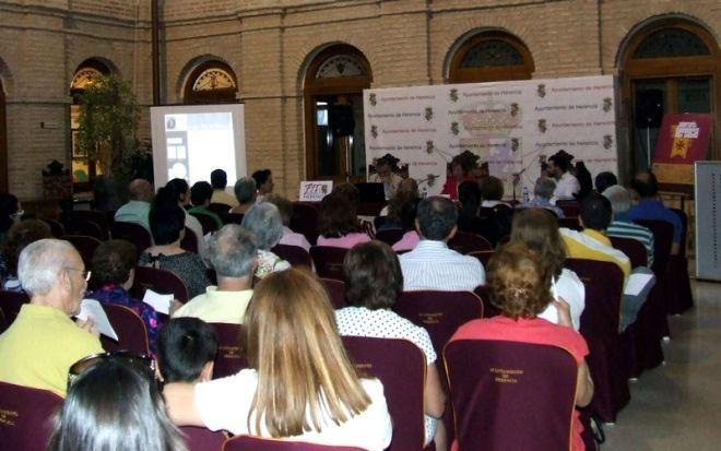 Público asistente a la segunda sesión de las jornadas históricas de Herencia