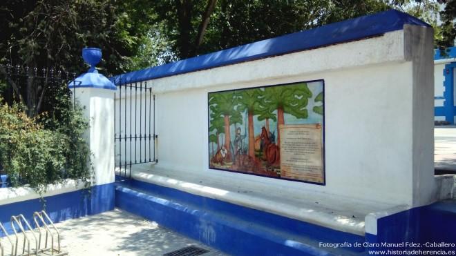 """Nueva cerámica con escena del Quijtoe obra de la alfarería """"Gregorio Peño"""""""
