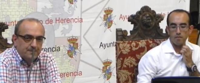 Mario Alonso Aguado y Claro Manuel Fdez.-Caballero