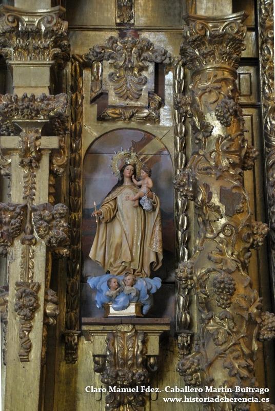 """Virgen de las Mercedes conocida como de la """"Finca de los Frailes"""""""