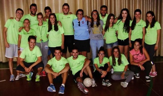 Monitores y voluntarios de la Escuela de Verano de Herencia - Agosto 2014