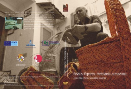 """Carátula del DVD """"Enea y esparto. Artesanía campesina"""""""