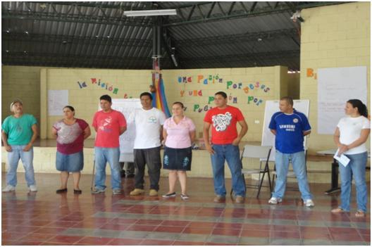 Personal del Turicentro Río Sumpul
