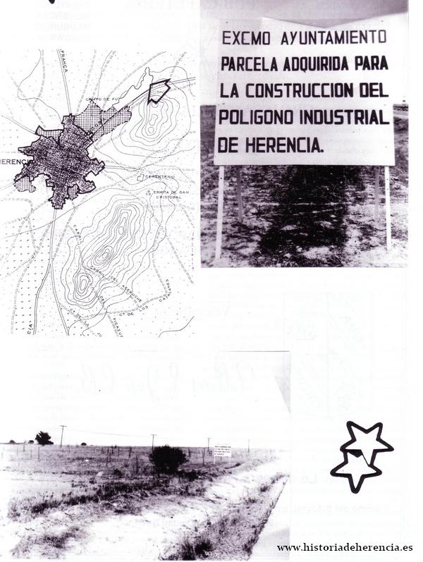 Terrenos del polígono industrial de Herencia 1989